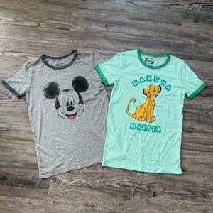 Women's Disney shirts bundle
